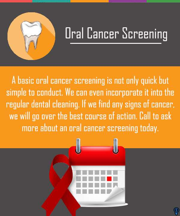 You Can Never Be Too Careful: Oral Cancer Screenings